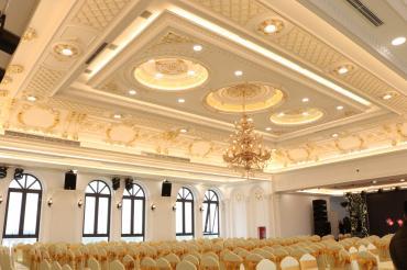 Công trình trung tâm tiệc cưới Queen Palace-Yên Mỹ-Hưng yên