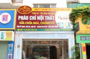 Khai trương phòng mẫu- số 56 - TT20-Khu đô thị Văn Phú-Hà Nội
