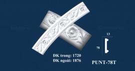 HOA VĂN TRANG TRÍ - PHÀO UỐN PUNT - 78T