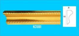 PHÀO PS VÀNG ĐỒNG HOA VĂN - KHUNG CỬA KC1061