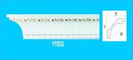 Sản phẩm PS trắng vàng - Phào trần hoa văn PT1050