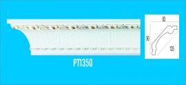 Phào chỉ PS trắng vàng - Phào máng hắt PT1350