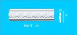 CHỈ KHUNG TRANH HOA VĂN PUNT - 78